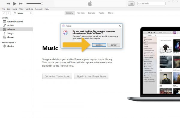 How to create an iTunes backup | Certo